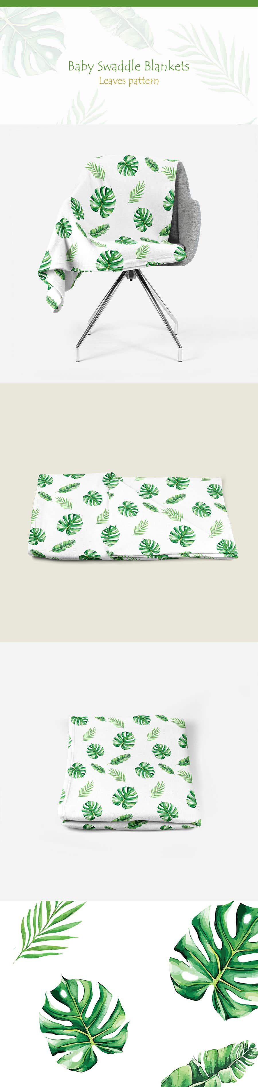 Proposition n°129 du concours Design 3 Baby Swaddle Blankets