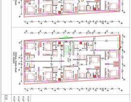 #25 za Architectural design for an area of 72x33 feet od subhajitmaitycs