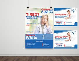 #18 for Create design for posters and flyers advertising job fairs in healthcare av NSGraphicDesing