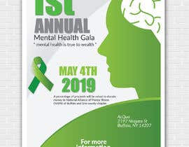#18 para design beautiful digital flyer - Mental Health Gala por piashm3085