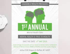 #24 para design beautiful digital flyer - Mental Health Gala por HashamRafiq2