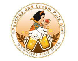 #191 for Logo for our new beer Peaches & Cream Pale av AyyoubMAZOUZ