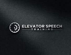 """#125 untuk logo for """"elevator speech training"""" oleh moniruzzaman7"""