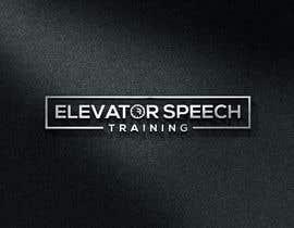 "#148 untuk logo for ""elevator speech training"" oleh monirhossian0987"