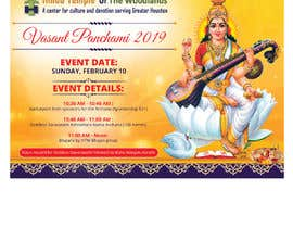 #33 for Vasant Panchami poster av savitamane212