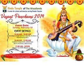 #31 for Vasant Panchami poster av satishandsurabhi