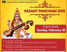 #17 for Vasant Panchami poster av IBasir