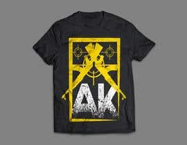 #24 pёr TShirt Design AK Clothing nga saidghouila
