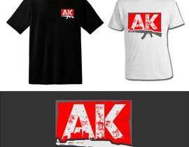 #12 pёr TShirt Design AK Clothing nga azurraka