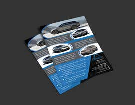 #24 za 1 Flyer size 5.5 X 8.5  and 3 business cards od nobelium18