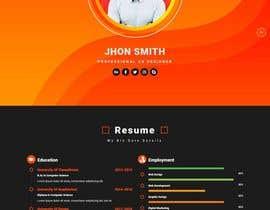 #28 pёr Build me a CV website nga saqibmsse