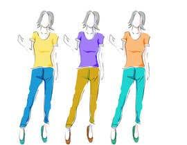 #7 pёr Fashion design ellustration nga SrDesign247