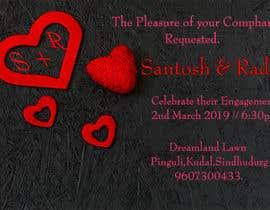 #43 pёr Design an Engagement Card nga abulkalam360360