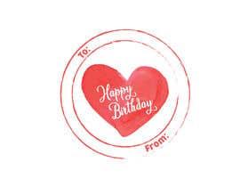 #10 pёr Make me a gift label: Heart 01 nga mehediabir1