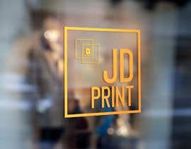 #4 untuk Needing a logo designed with the wording: JD Print. Preferably with the JD in the shape of a diamond oleh eddiegutomo89