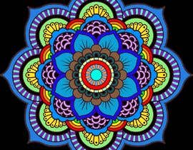 #24 za Colorear dos mandalas (fácil) od Flenix