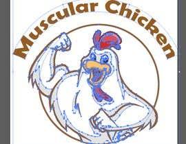 #1 pёr Design Muscular Chicken Logo nga lolasaad1198