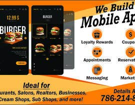 """#9 za 1/2 Page Ad for Building Mobile Apps 8"""" wide X 4.9"""" tall od syedjaved25"""