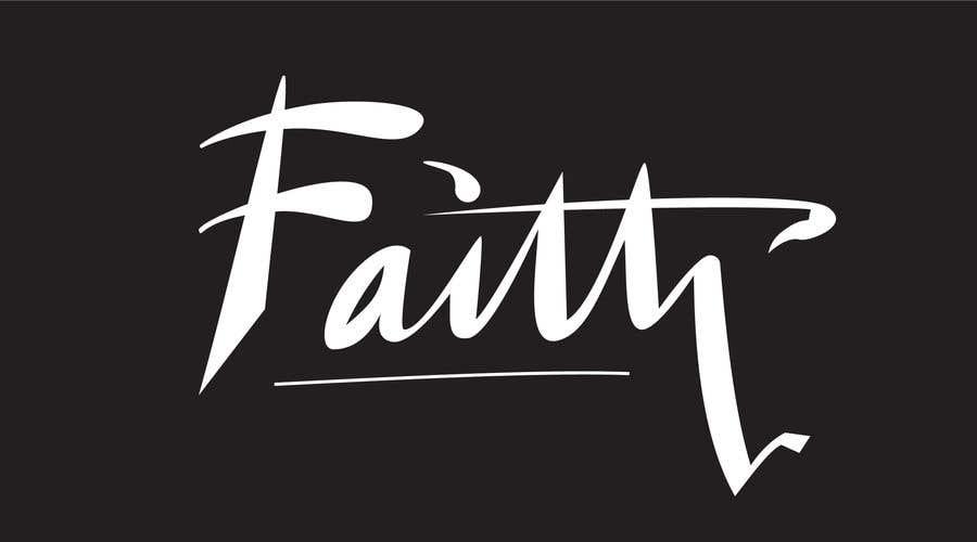 Proposition n°52 du concours Digitize and improve a hand drawn text logo - Faith