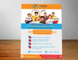 #21 pёr Design a flyer for Childrens language classes nga alamindesignbd5