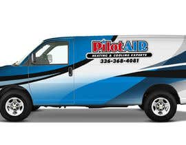 #13 pёr Pilot Air Heating & Cooling Partial Van Wrap design nga Dorio