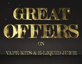 #13 pёr Website Banner for Vape Products nga LaGogga