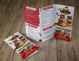 #34 pёr design street style fried chicken restaurant menu nga badriaabuemara