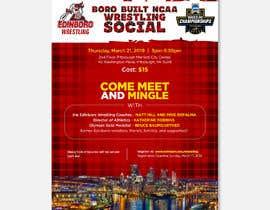 nº 5 pour Boro Built NCAA Wrestling Social par ISShaikh007