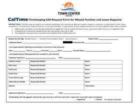 #13 za Make a one page employee form od alokaryan78
