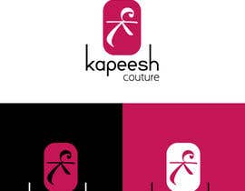 #12 za We are needing this logo attached redesigned. We are needing a more polished and modern design. The colors are hot pink, black and white. This is a women's clothing boutique. Please be original. KAPEESH COUTURE od iammisbah