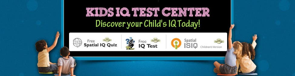 Proposition n°33 du concours Banner Ad Design for Kids IQ Test Center - Winner Gets $100