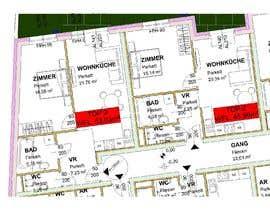 #2 para Architekturdesign -  5 - Flat ground plans design por ssquaredesign