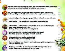 #21 za Design a poster - 10 habits to follow for Natural Health od Maraya4511