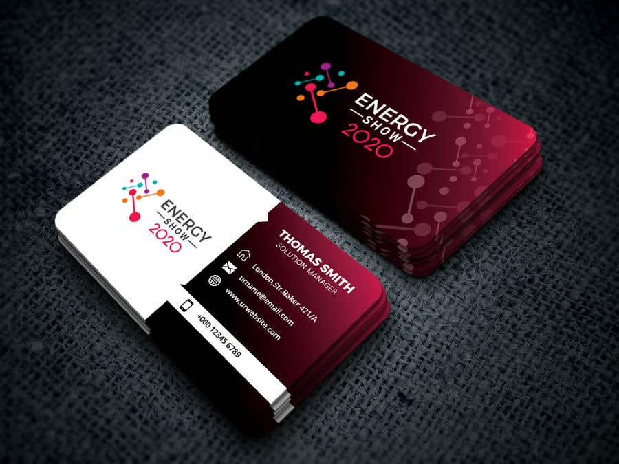 Business Card Design 2020.Entry 480 By Mdmostafamilon10 For Business Card And E Mail