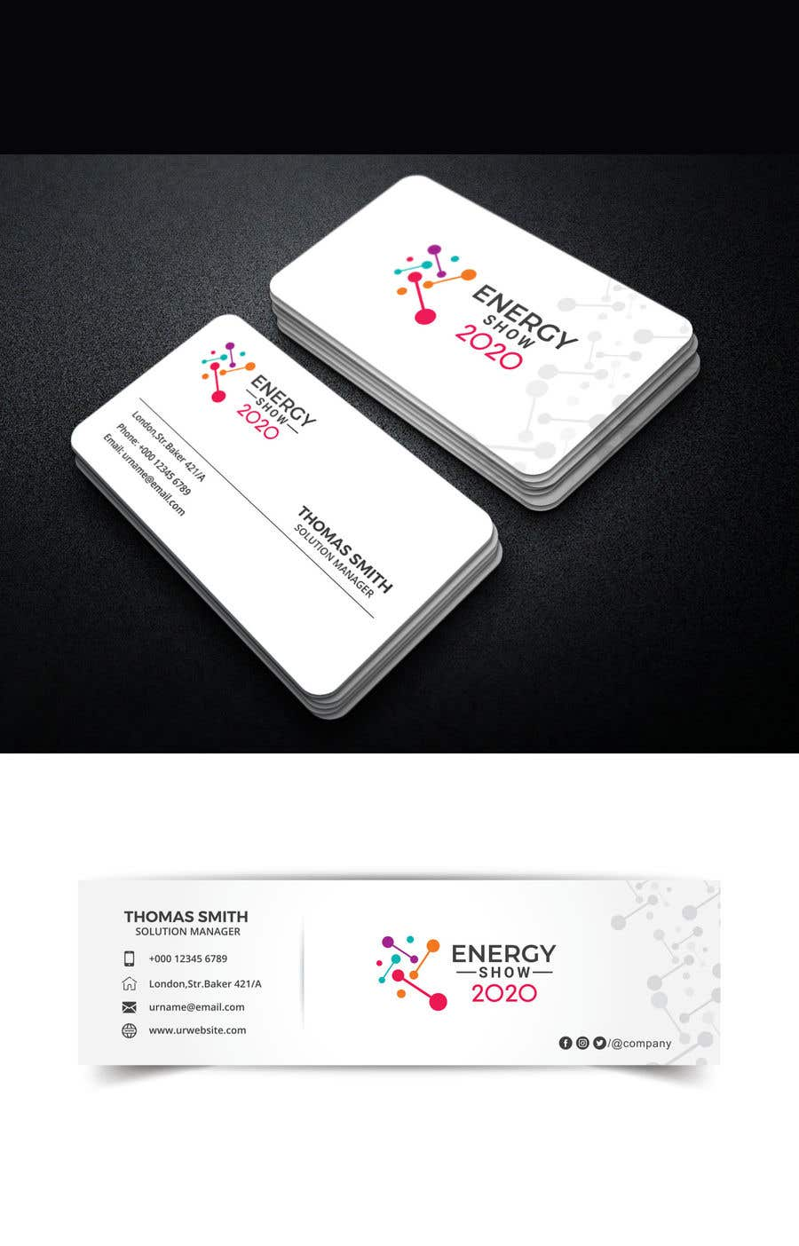 Contest Entry #496 for Business card and e-mail signature template.