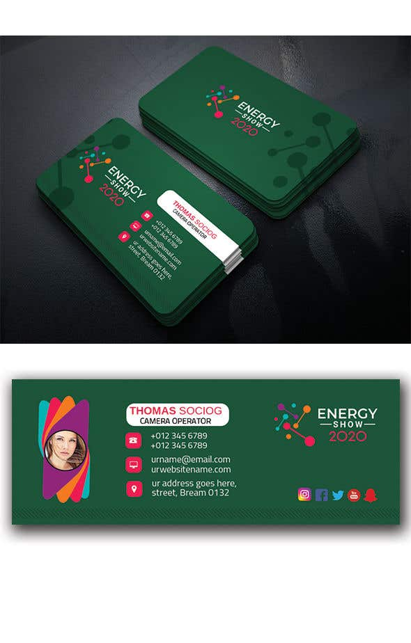 Contest Entry #638 for Business card and e-mail signature template.