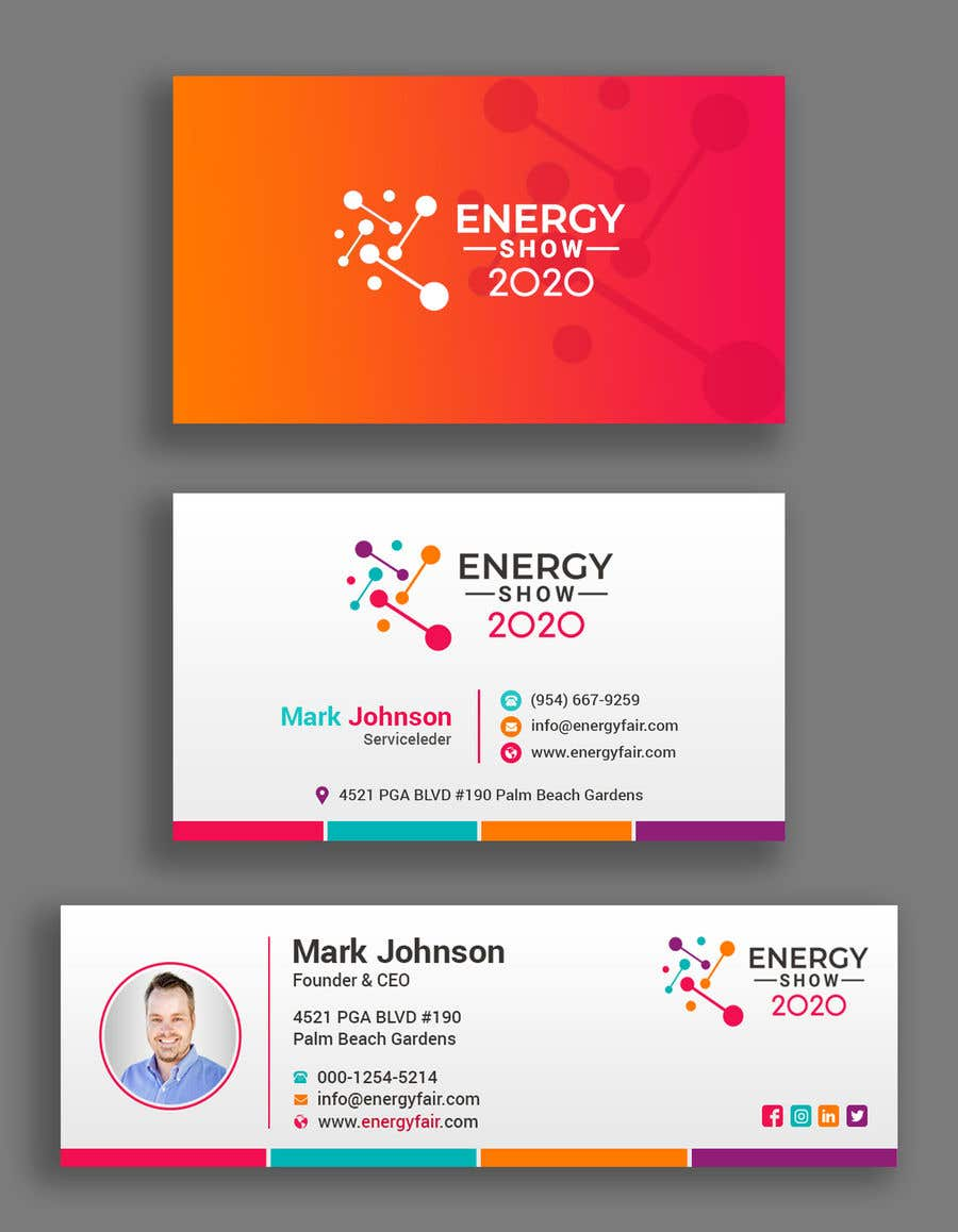 Contest Entry #381 for Business card and e-mail signature template.