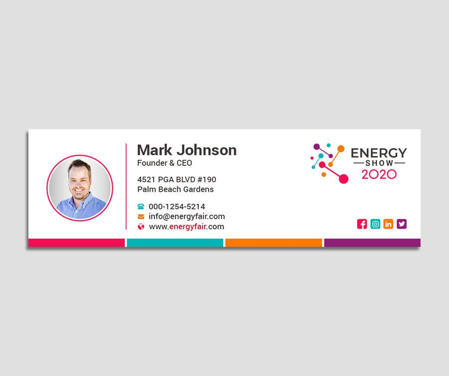 Contest Entry #488 for Business card and e-mail signature template.