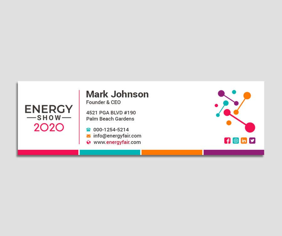 Entry #490 by Designopinion for Business card and e-mail signature