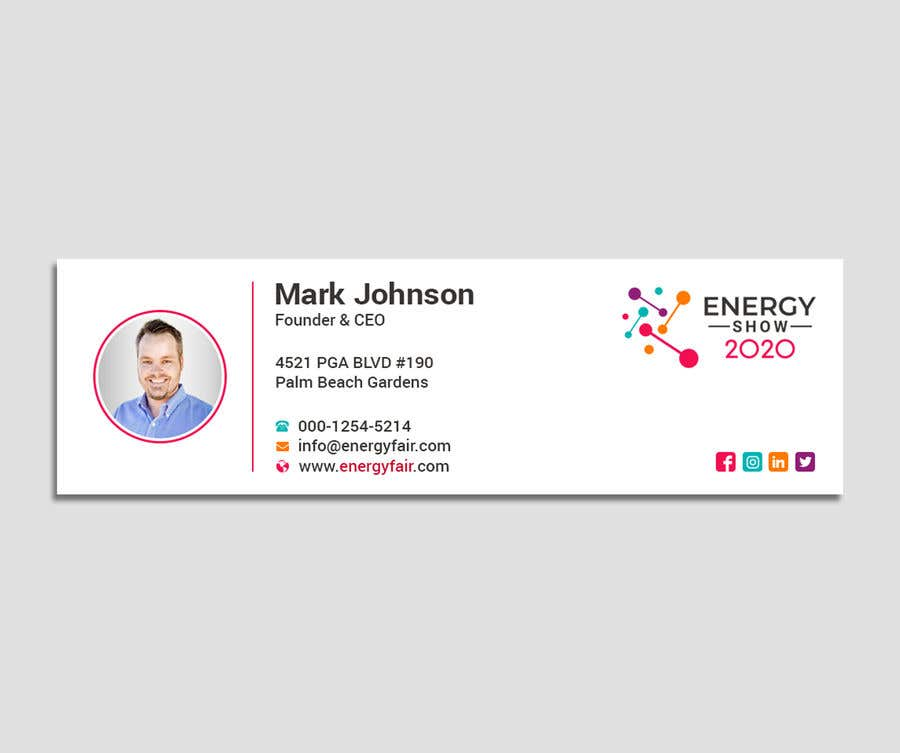 Contest Entry #491 for Business card and e-mail signature template.