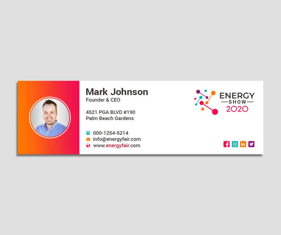 Contest Entry #493 for Business card and e-mail signature template.