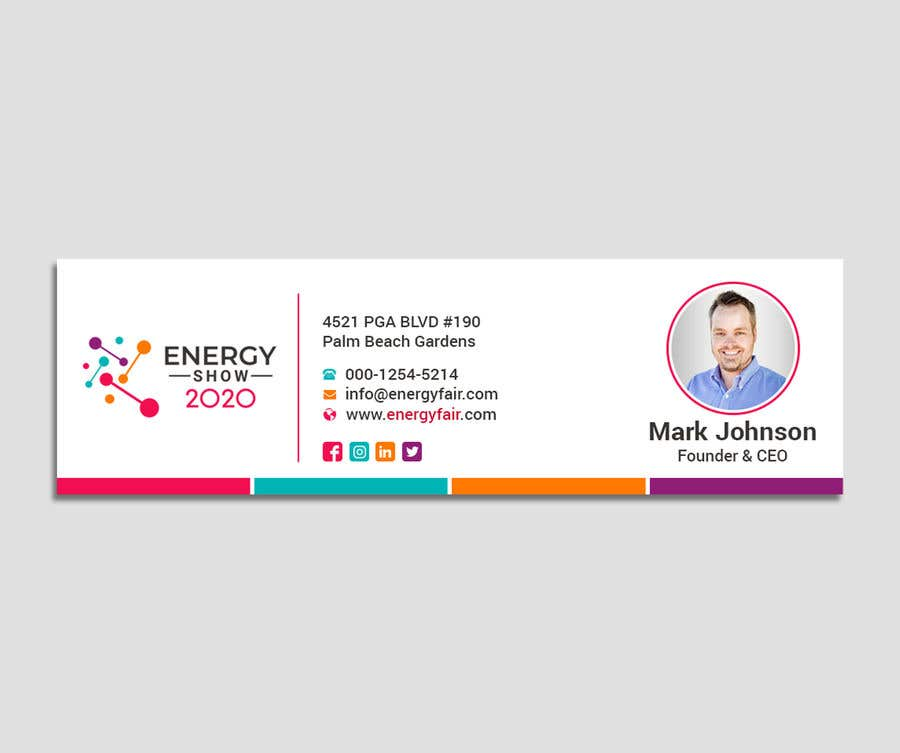 Contest Entry #500 for Business card and e-mail signature template.