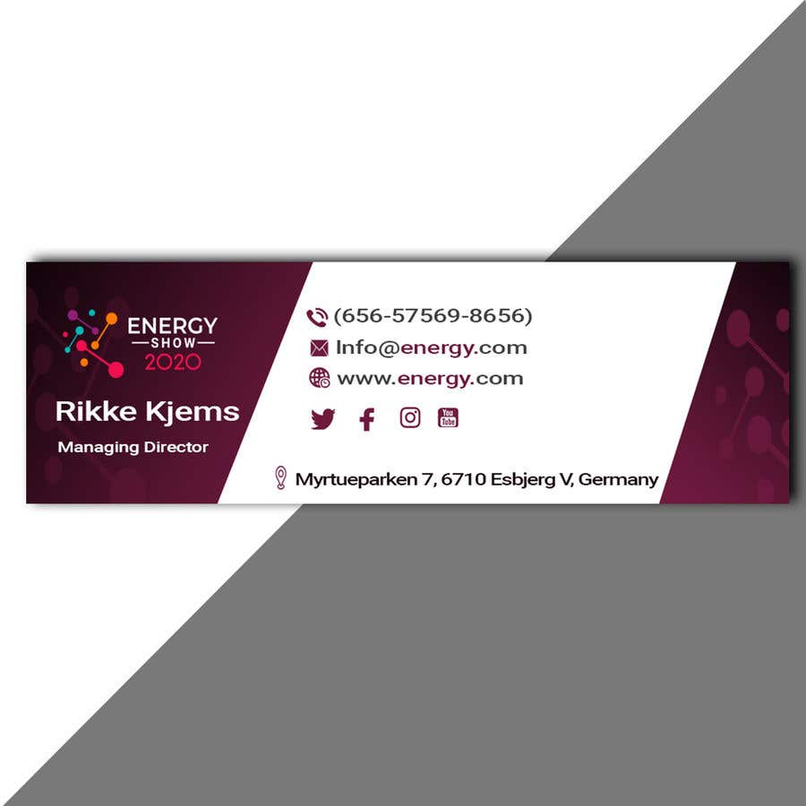 Contest Entry #816 for Business card and e-mail signature template.
