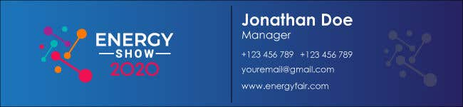 Contest Entry #563 for Business card and e-mail signature template.