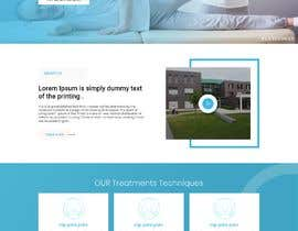 #25 untuk Need PSD for physical therapy website home page oleh dreamplaner