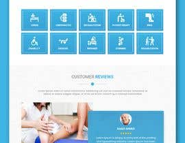 #26 untuk Need PSD for physical therapy website home page oleh TeamAlphaSH