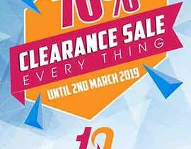 #7 для A Clearance Sale poster of 70% off everything от maidang34