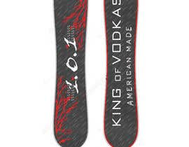 #10 za design a snowboard od jomainenicolee