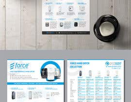 #23 za Create a two page hand dryer brochure od rikattando17