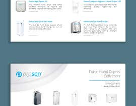 #22 za Create a two page hand dryer brochure od ChiemiDesigns